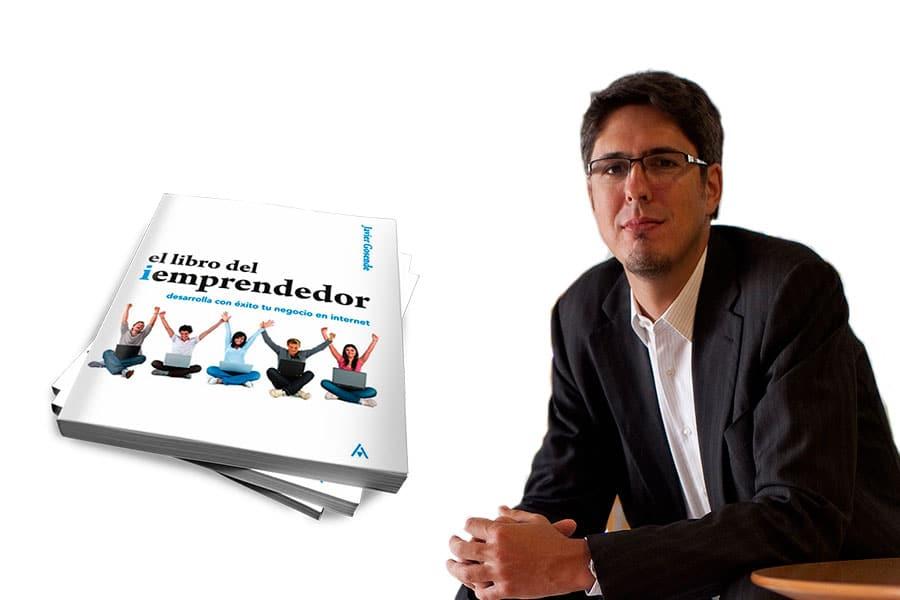 """Javier Gosende y su libro """"El libro del iEmprendedor"""""""