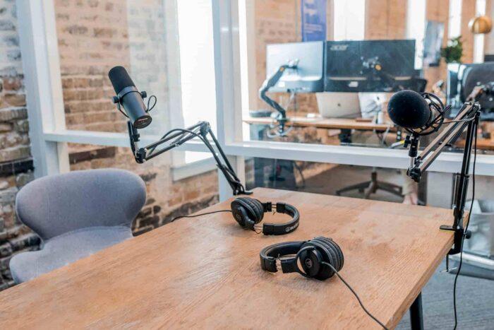 Estudio de podcasting